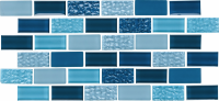 Pool Tile - Glass Pool Tiles - National Pool Tile - Essence Imperial 1x2