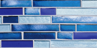 Pool Tile - Glass Pool Tiles - National Pool Tile - Oceanscapes Capri Vertical 6x12