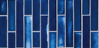 Pool Tile - Glass Pool Tiles - National Pool Tile - Oceanscapes Sapphire Vertical 6x12