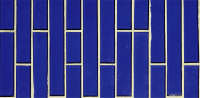 Pool Tile - Glass Pool Tiles - National Pool Tile - Oceanscapes Cobalt Vertical 6x12