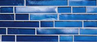 Pool Tile - Glass Pool Tiles - National Pool Tile - Oceanscapes Sapphire Interlocking