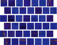 Pool Tile - Glass Pool Tiles - National Pool Tile - Canyon Gems Blue Quartz