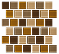Pool Tile - Glass Pool Tiles - National Pool Tile - Allure Bronze