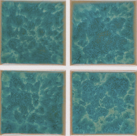 "Pool Tile - 3""x3"" Pool Tiles - National Pool Tile - Harmony Olive Blue"