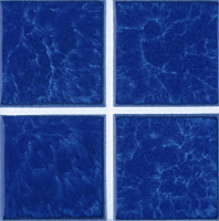 "Pool Tile - 3""x3"" Pool Tiles - National Pool Tile - Harmony Lake Blue"