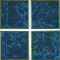 "Pool Tile - 3""x3"" Pool Tiles - National Pool Tile - Harmony Ocean Blue"