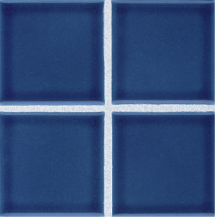 "Pool Tile - 3""x3"" Pool Tiles - National Pool Tile - Discovery Field Caribbean Blue"