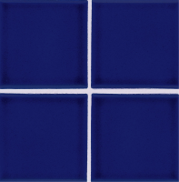 "Pool Tile - 3""x3"" Pool Tiles - National Pool Tile - Discovery Field Cobalt Blue"