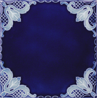 "Pool Tile - 6""x6"" Pool Tiles - National Pool Tile - Casablanca Cobalt Ocean Field"