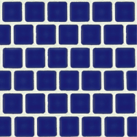 Pool Tile - Trim,Accents&Mosaic Patterns - National Pool Tile - Mini Koyn Cobalt 1x1