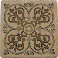 Pool Tile - Trim,Accents&Mosaic Patterns - National Pool Tile - Catania Sand Deco