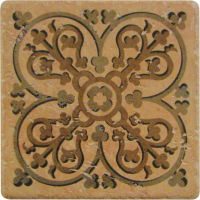 Pool Tile - Trim,Accents&Mosaic Patterns - National Pool Tile - Catania Rust Deco