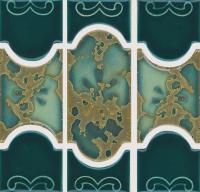 National Pool Tile - Botanical Teal