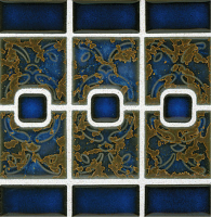 Pool Tile - Trim,Accents&Mosaic Patterns - National Pool Tile - Luciana Terra