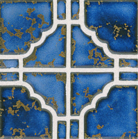 Pool Tile - Trim,Accents&Mosaic Patterns - National Pool Tile - Moonbeam Terra Blue
