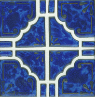 Pool Tile - Trim,Accents&Mosaic Patterns - National Pool Tile - Moonbeam Lake Blue