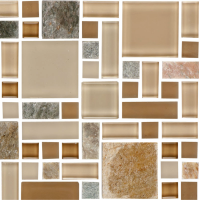 Pool Tile - Glass Pool Tiles - National Pool Tile - Fusion Beige