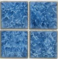 "Fujiwa Tile - Titan-331 Crystal Blue 3""x3"" - Image 2"